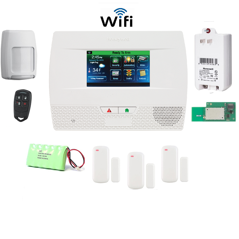 Honeywell L521WF-KT8 Lynx Touch L5210 Alarm Kit
