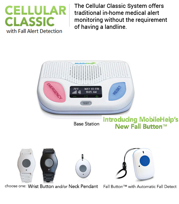 Mobile-Help-Cellular-Classic-wih-Fall-Alert-Detection-Medical-Alert-System-for-IN-Home