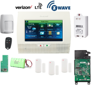 Honeywell L7000PK-LTE-V-Zwave Lynx Touch L7000 Alarm Kit