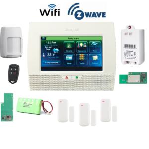 Honeywell L70WF-KT8-Zwave Lynx Touch L7000 Alarm Kit