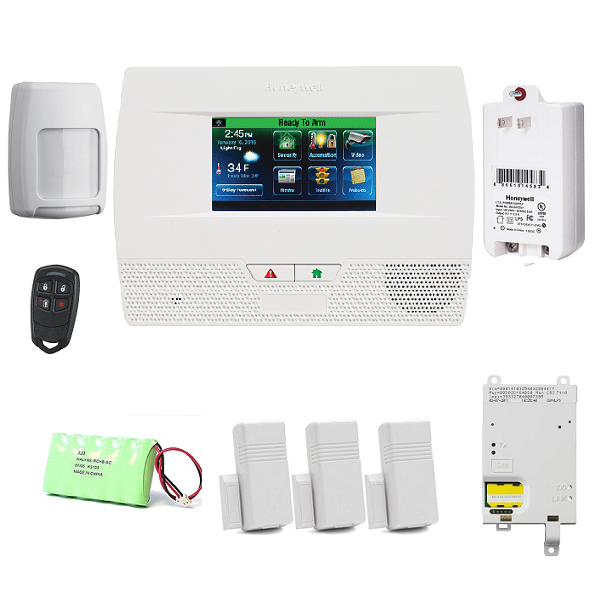 L521G-KT26-Honeywell Lynx Touch L5210 Cellular Security Alarm System