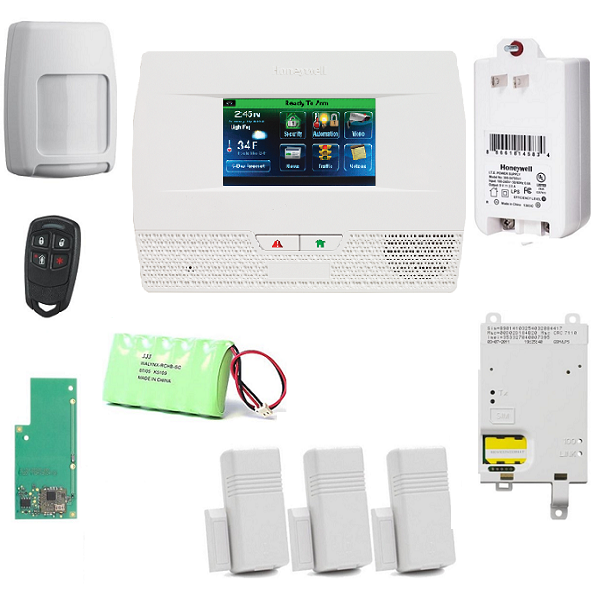 honeywell l521g kt26 zwave l5210 kit gsm z wave advanced security llc. Black Bedroom Furniture Sets. Home Design Ideas