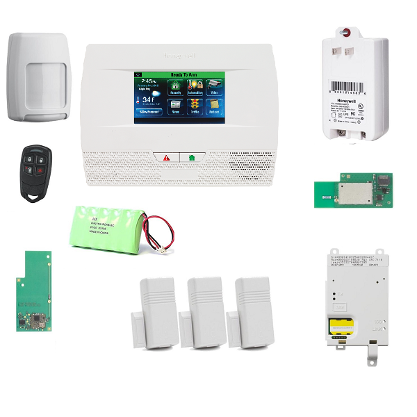 L521GWF-KT1 Honeywell Lynx Touch L5210 Cellular-WIFI Security Alarm System with Zwave