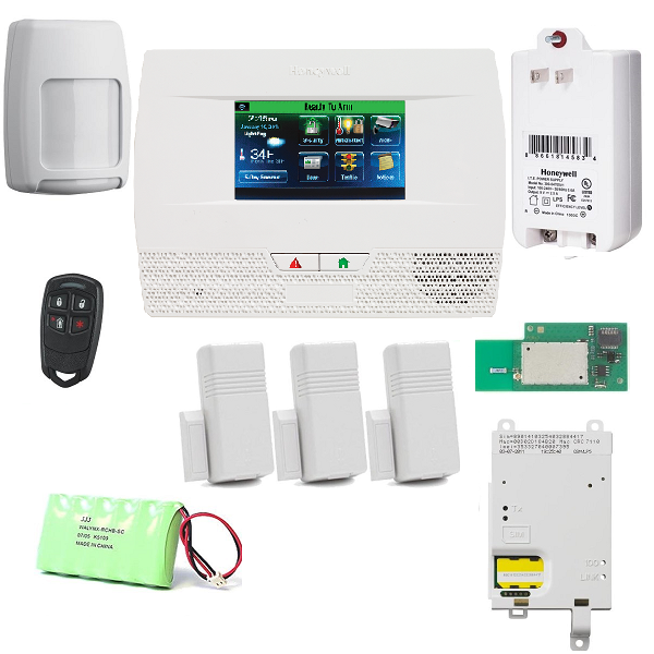 L521GWF-KT4 Honeywell Lynx Touch L5210 Cellular and WiFi Security Alarm System