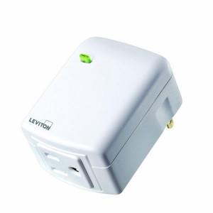 Leviton VRPA1-1LW Z-Wave Universal Appliance Plug In Module