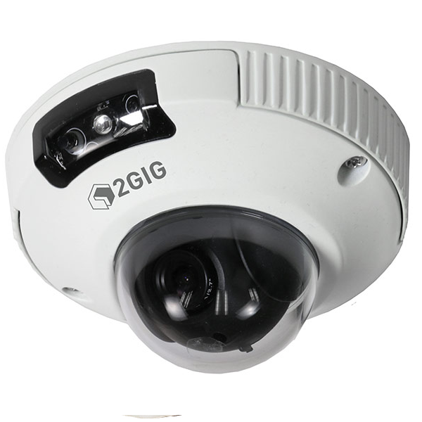 2GIG-CAM-250P Outdoor Mini Dome HD Camera