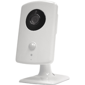 2GIG-CAM-HD100 Wi-Fi Camera is an HD Indoor Camera with Night Vision.  Great for use as a nanny camera, or nursery room or anywhere you need security day or night.