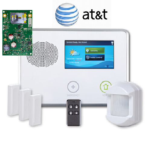 2GIG-GCKIT311-ATT GC2 Security Alarm 3-1-1 Kit
