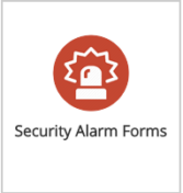 Security Alarm Forms