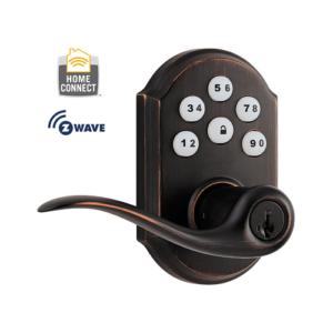 Kwikset 912TNL TRL ZW 11P Z-Wave SmartCode 912 Lever Lock