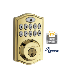 Kwikset 99140-001 Z-Wave SmartCode Wireless Deadbolt
