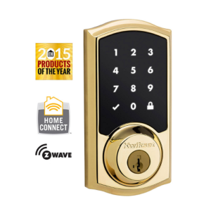 Kwikset 99160-001 Z-Wave SmartCode 916 Touchscreen Deadbolt