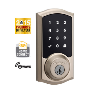 Kwikset 99160-002 Z-Wave SmartCode 916 Touchscreen Deadbolt