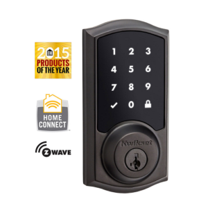 Kwikset 99160-003 Z-Wave SmartCode 916 Touchscreen Deadbolt