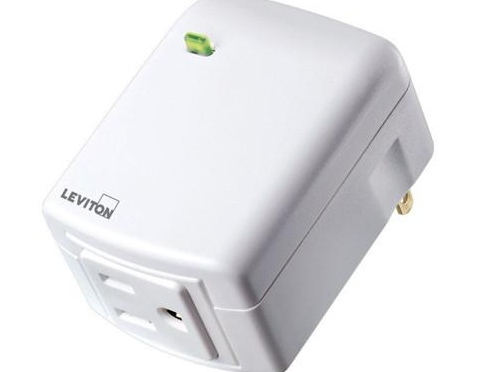Leviton DZPA1-2BW Decora Smart 15A Z-Wave Plug-In Outlet