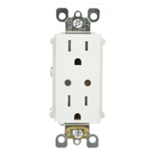 Leviton VRR15-1LZ Vizia Z-Wave 15A In-Wall Outlet