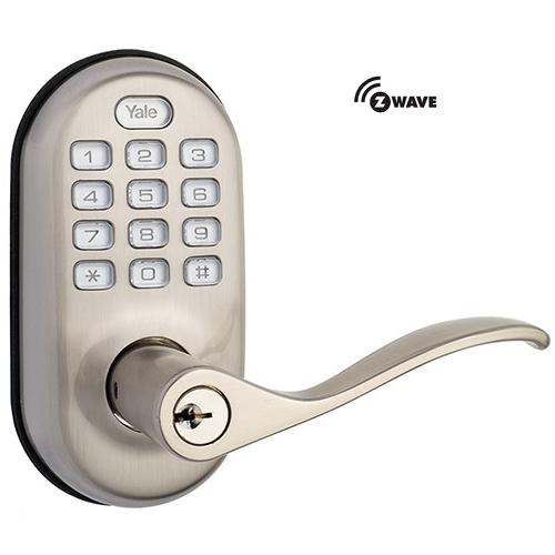 Yale YRL210ZW619 Z-Wave Push Button Lever Lock