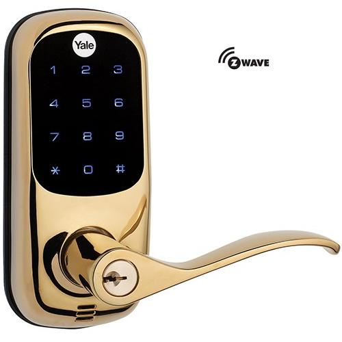 Yale YRL220ZW605 Z-Wave Touchscreen Lever Lock
