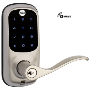 Yale YRL220ZW619 Z-Wave Touchscreen Lever Lock