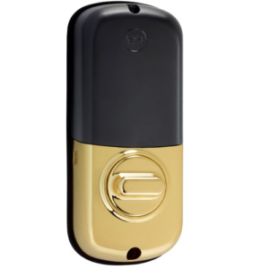 Yale YRD110ZW605 Z-Wave Push Button Key Free Deadbolt Lock