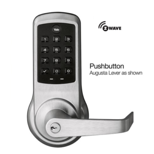 Yale NTB610-ZW2-626 nexTouch Z-Wave Push Button Lever Lock