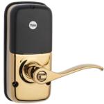 Yale YRL210ZW605 Z-Wave Push Button Lever Lock