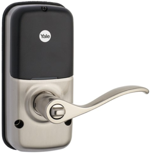 Yale YRL210ZW619 Z-Wave Push Button Lever Lock