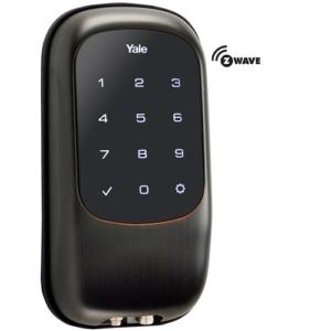 Yale YRD120ZW0BP Z-Wave Touchscreen Key Free Deadbolt Lock