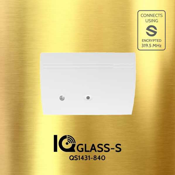 Qolsys QS1431-840 IQ GLASS-S Glass Break Sensor