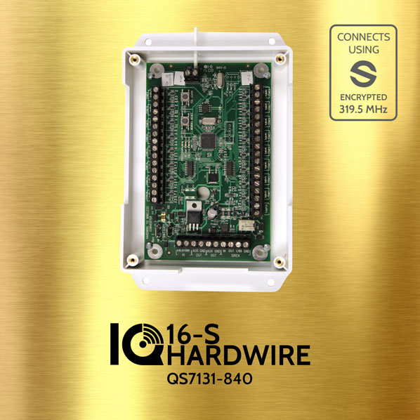 Qolsys QS7131-840 IQ HARDWIRE 16-S Wired To Wireless Converter