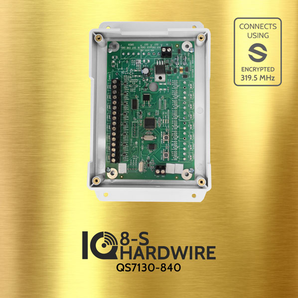 Qolsys QS7130-840 IQ HARDWIRE 8-S Wired To Wireless Converter