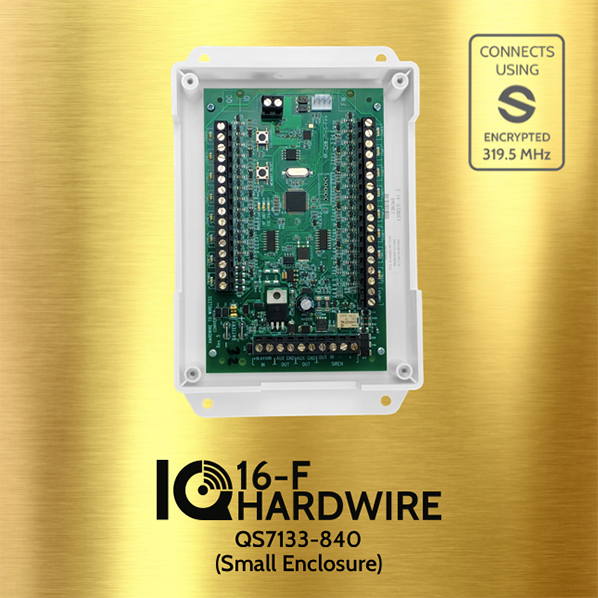 Qolsys QS7133-840 IQ HARDWIRE 16-F Wired To Wireless Converter