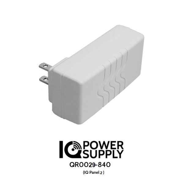 Qolsys QR0029-840 IQ Power Supply 6v for IQ Panel 2