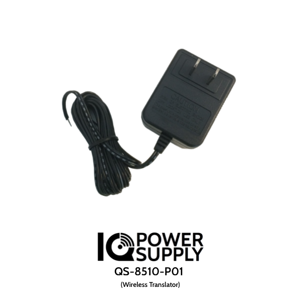Qolsys QS-8510-P01 IQ Power Supply for Wireless Translator