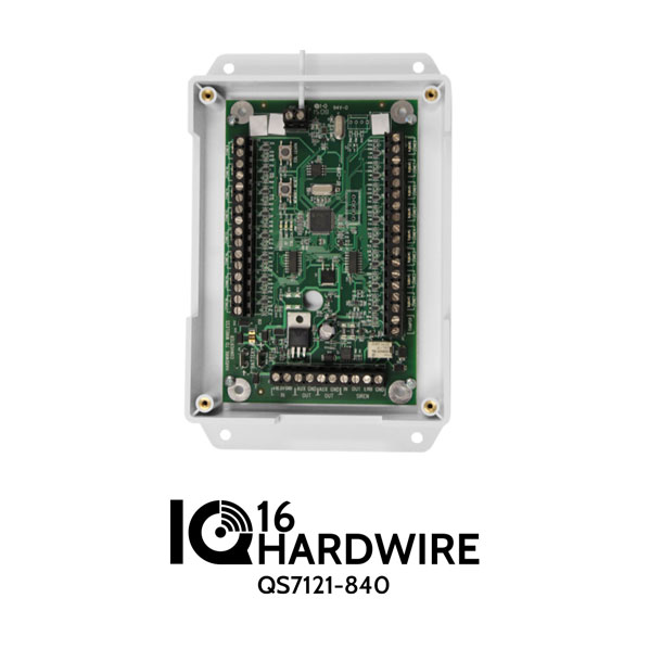 Qolsys QS7121-840 IQ Hardware 16 Wired To Wireless Converter