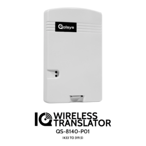 Qolsys QS-8140-P01 IQ Wireless Translator 433MHz to 319.5MHz