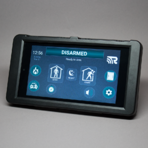 HeliTouch RE657B-R Black Touch Screen with WiFi Radio