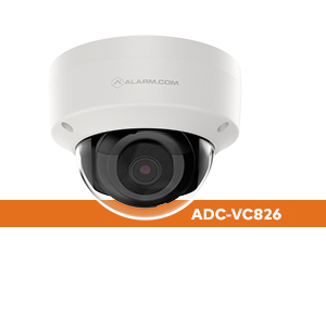 Alarm.com ADC-VC826 1080p Indoor/Outdoor Dome Camera
