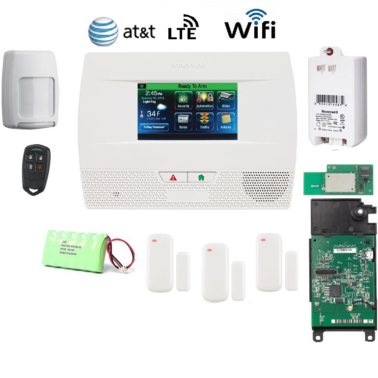 Honeywell L521WF-KT8-LTE-A Lynx Touch L5210 Alarm Kit