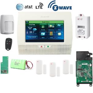Honeywell L7000PK-LTE-A-Zwave Lynx Touch L7000 Alarm Kit