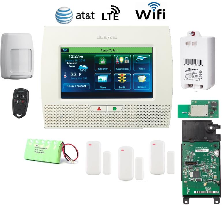 Honeywell L70WF-KT8-LTE-A Lynx Touch L7000 Alarm Kit