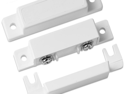 Interlogix 1085TW-N Surface Mount Magnetic Contact w/Terminals