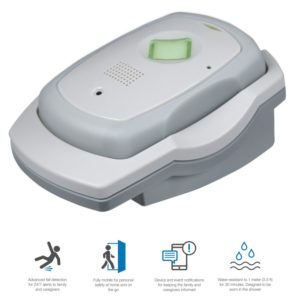 Numera Libris 2 Mobile Cellular Medical Alert System with GPS & Fall Alert Detection