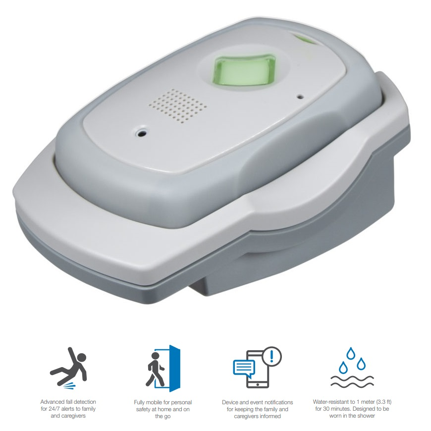 Numera Libris 2 Mobile Medical Alert System with GPS & Fall Alert Detection