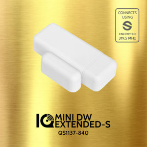 Qolsys QS1137-840 IQ DW MINI EXTENDED-S Door Window Sensor