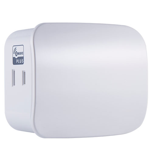 Honeywell Z5SWPID 15a Plug-In Dual Outlet Z-Wave Plus Switch