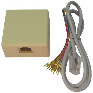 WBOX 0E-RJ31XSET2 RJ31X JACK AND 2' CORD SET