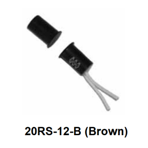 "GRI 20RS-12-B Recessed Miniature 3/8"" Contact with Wire Leads"