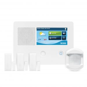 2GIG-GC2E-345-K31 eSeries Security Alarm System and Control 3-1 Kit