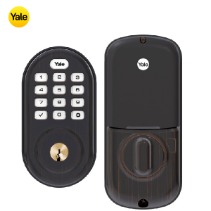 Yale YRD216-ZW2-0BP Keypad Deadbolt Z-Wave Lock-Oil Rubbed Bronze